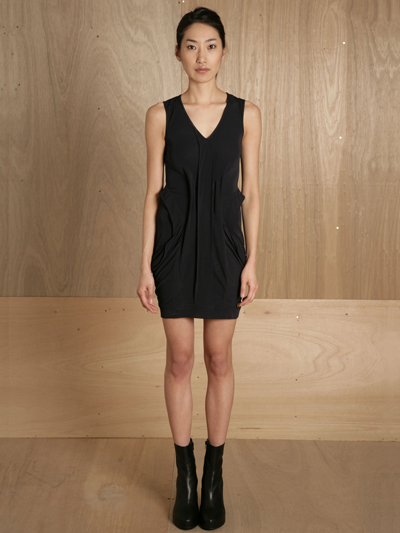 www.ln-cc.com Ohne Titel Women's Drape Pocket Dress