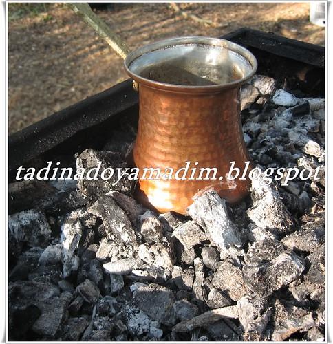 kömürde türk kahvesi