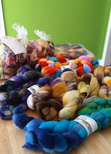 TdF group FatCatKnits fiber