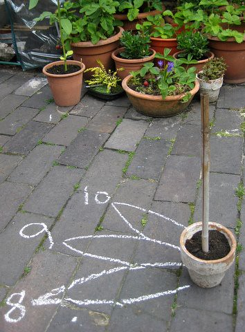 how to make a sundial with children