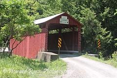 Pennsylvania Countryside (Framemaker 2014) Tags: covered bridge unityville pennsylvania montour county endless mountains united states america