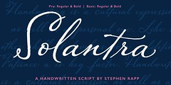 Poster_1_Title (Stephen Rapp) Tags: font script solantra calligraphy lettering english roundhand