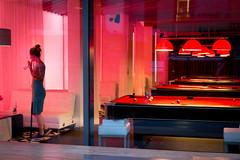 Sunday (Rachel Elisabeth Jones) Tags: london canal pool snooker lounge bar alone drink red uk nightlife culture