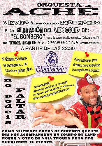 Orquesta Aché 2011 - cartel gravación videoclip