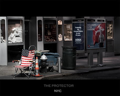 the protector (teninopia) Tags: nyc newyork chair flag jewelry silla bandera protector diamonddistrict barrasyestrellas teninopia enlainopia