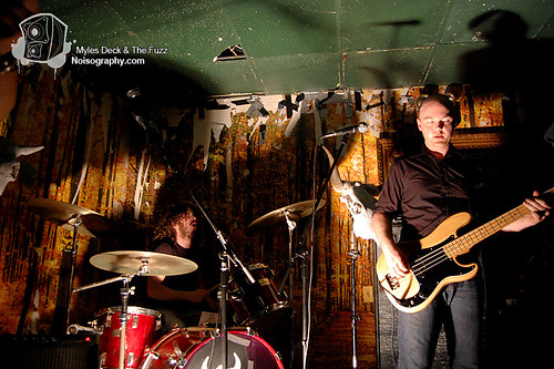Myles Deck & The Fuzz - Gus' Pub - March 19th 2011 - 20