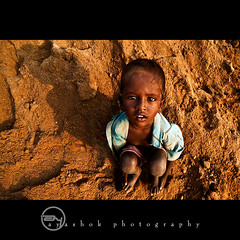 Up above the World so High | (ayashok photography) Tags: morning boy shadow india kid nikon madras dude chennai tamilnadu cwc sunight brickfactory thirumazhisai ayashok nikond300 tokina1116mm chennaiweekendclickers aya0525v2