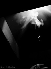 A little hope, a little prayer. Going up for you. (Stuti ~) Tags: white black japan sticks smoke incense