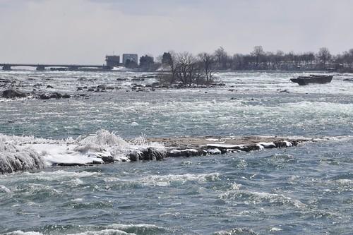 Above Niagara Falls