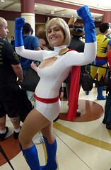 Power Girl (sciencensorcery) Tags: comics cosplay conventions megacon marvel con powergirl megacon2011