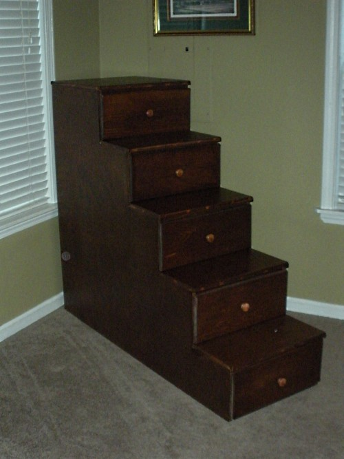 Bunk Bed stairway unit