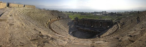 Hadrians Roman theatre, Pamukkale