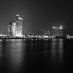 (TerryTian) Tags: china sea bw white black beautiful night 35mm outside photo nikon friend asia shot image outdoor earth chinese east xiamen   nikkor dslr fx nano discovery             2470        d700    earthasia