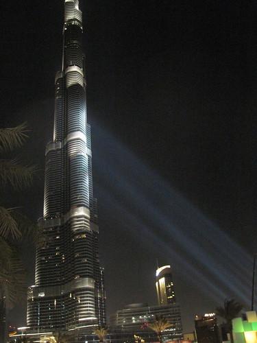 Man Climbing Burj Khalifa