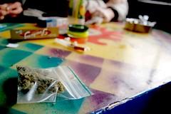 Strawberry (Filippo M. Nardini) Tags: light red amsterdam dam district bulldog piazza xxx marijuana hemp kies psylocibe