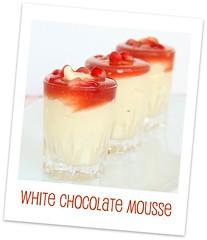 White Chocolate Mousse - Swapna`s Cuisine