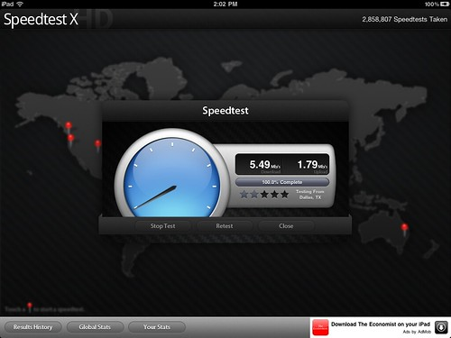Verizon LTE Edmond (iPad 2)
