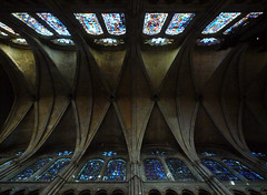 Chatres, Nave Vaulting with Celestory