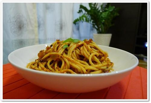 Herbs & Anchovy Spaghetti