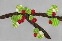 Iron Craft Challenge #14 - Spring Blossom Postcard