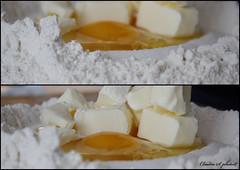 Uova, burro, zucchero e farina (cla_pocahontas) Tags: cake canon milk sugar eggs flour latte torta zucchero farina catchycolorsyellow uova eos1000d