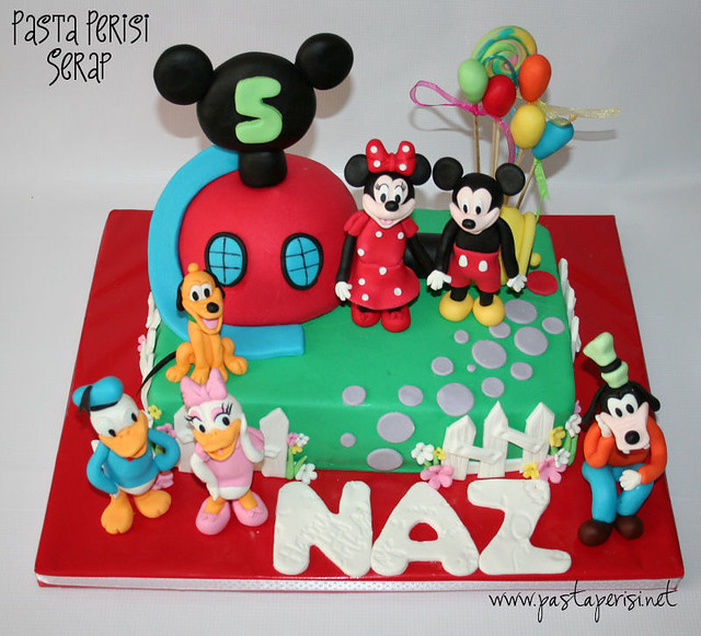 Mickey mouse cake - Naz