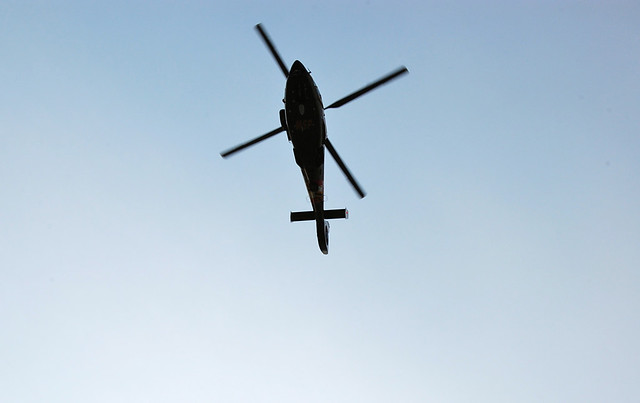 chopper overhead