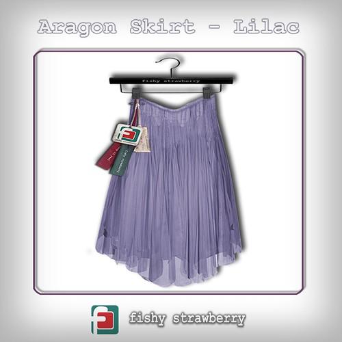 Aragon Skirt Lilac TDR