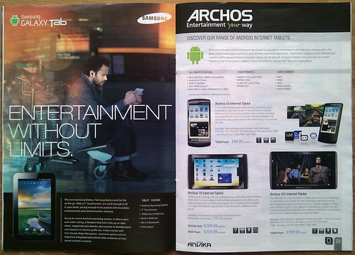 5606019992 805e327468 Archos 7 8GB Home Tablet with Android (Black)