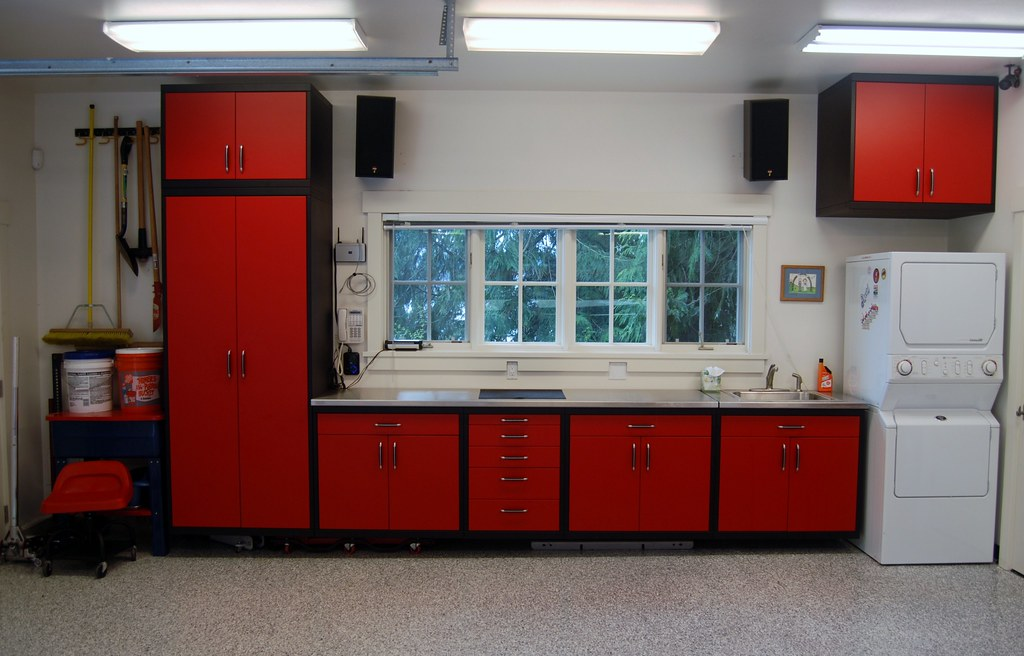 What do your Storage Cabinets look like? - The Garage