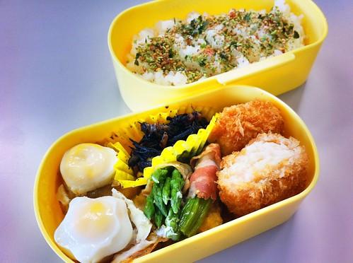 今日のお弁当 No.146 – 海苔わさび