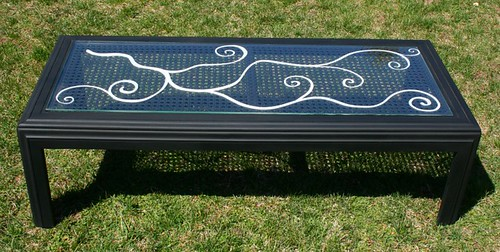 "Coffee Table 38"" x 24"" by Rick Cheadle Art and Designs"