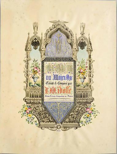 002- L'album du moyen-âge 1836- Jean Midolle