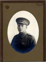 Number 23 BROWN, Norman Oscar (State Records SA) Tags: portrait blackandwhite sepia soldier army uniform military wwi australian australia worldwari worldwarone historical sa ww1 greatwar southaustralia anzac regiment aif thegreatwar 19141918 australianimperialforces southaustralian australianimperialforce srsa historicalportrait staterecords grg2654 staterecordsofsouthaustralia 27thbattalion normanoscarbrown staterecordsofsa