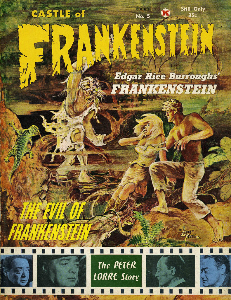 Castle Of Frankenstein, Issue 5 Cover (1964)Art by Larry Ivie
