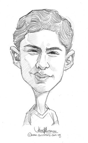 caricature in pencil - 43