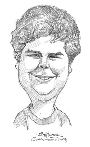 caricature in pencil - 42