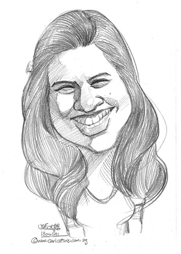 caricature in pencil - 52