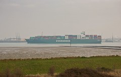 Thamesport (Kerry Parker (KP)) Tags: ship grain evergreen ever medway utile thamesport
