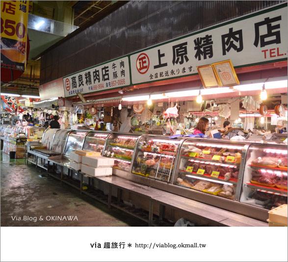【沖繩必買】跟via到沖繩國際通+牧志公設市場血拼、吃美食!16