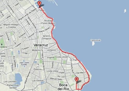 Ruta 10K del Golfo Boca del Río Veracruz