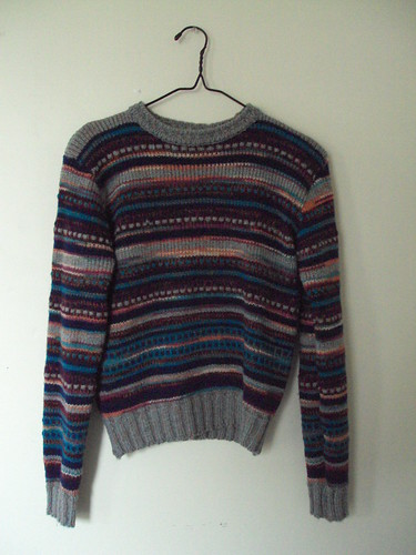 Vintage Silly Striped Sweater