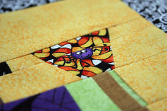 spider spider (duckyhouse) Tags: halloween quilt spiders witch free liberated piecing quiltmaking