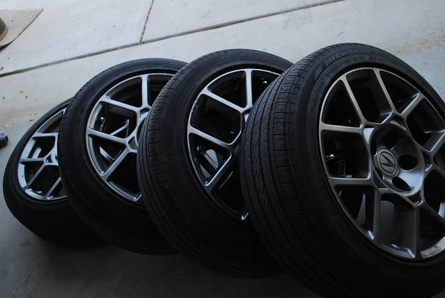 2007 2008 Acura Tl Type S Wheels W Tires Honda Accord