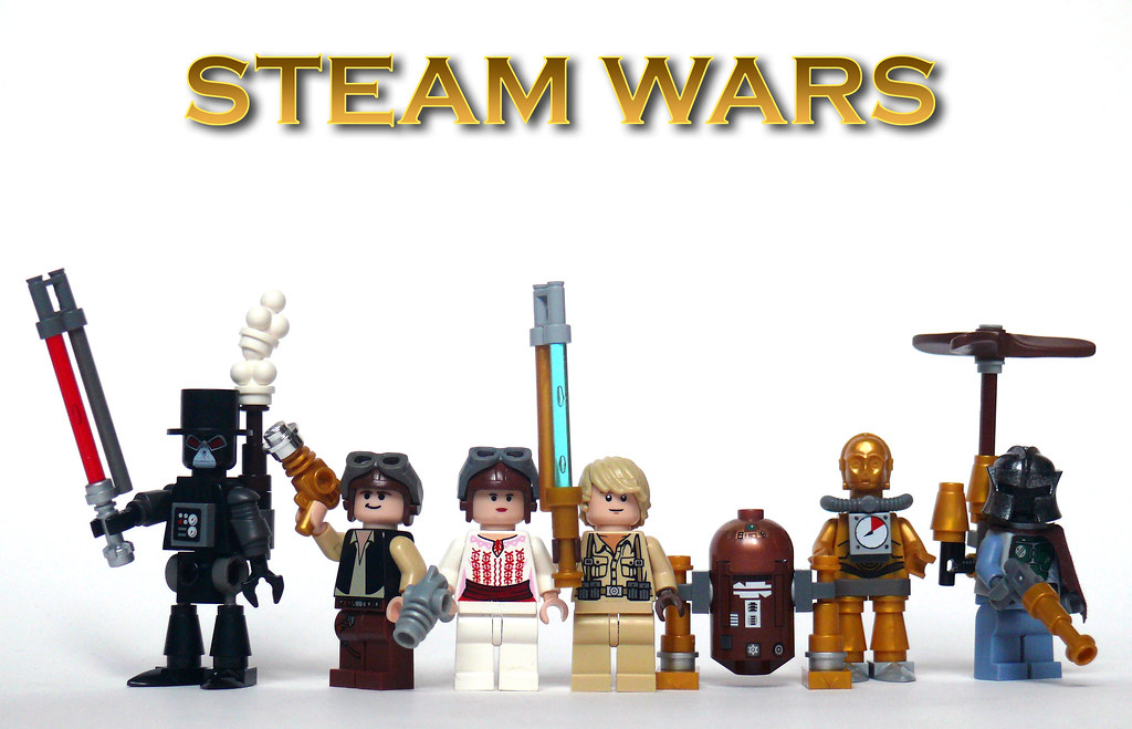 Steam Wars Characters