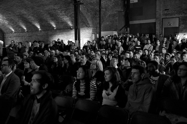 Press shots of Glug at village underground
