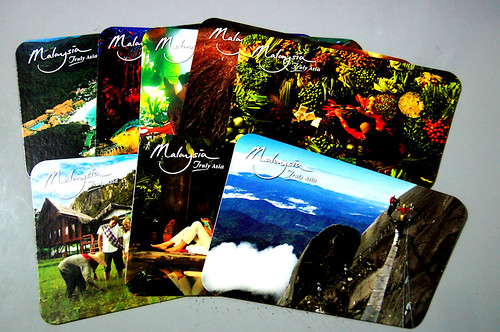 Malaysian Tourism Office Postcards