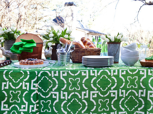 Garden Inspired Buffet Brunch