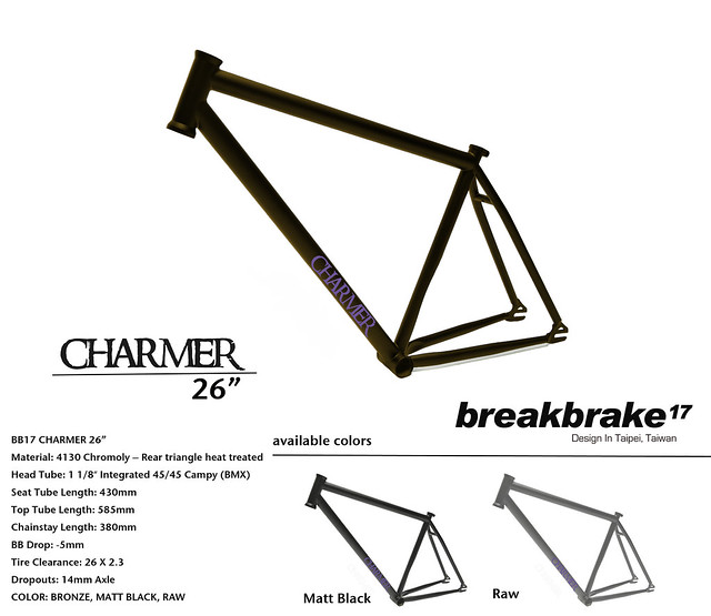 "CHARMER 26"" COLOR"