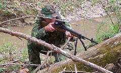 100_4323 (cowboy chris bbq) Tags: cute sexy hat usmc model marine gun photoshoot calendar boots modeling military rifle models columbia camo mo cap cover missouri blonde posters casual camoflage m14 booniehat cowboychrisbbq
